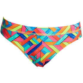 Funkita Sports Bikini Slip Damen panel pop